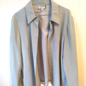 Kasper Gray Blazer Jacket Sz 16